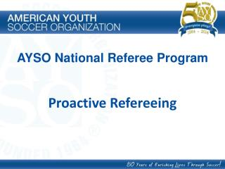 Proactive Refereeing