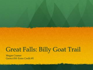 Great Falls: Billy Goat Trail