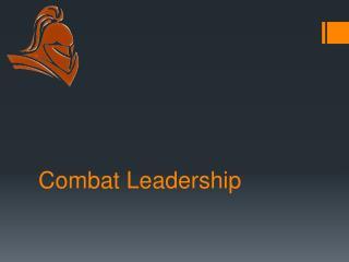 Combat Leadershi p