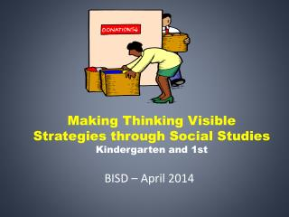 Making Thinking Visible Strategies through Social Studies  Kindergarten and 1st