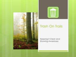 Trash On Trails