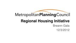 Regional Housing Initiative