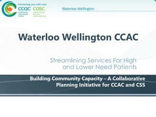 Waterloo Wellington CCAC