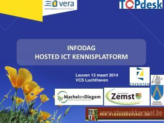 INFODAG HOSTED ICT KENNISPLATFORM