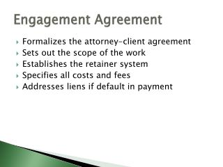 Engagement Agreement