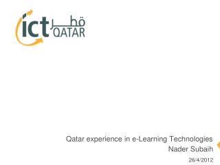 Qatar experience in e-Learning Technologies