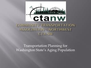 Community Transportation Association – Northwest CTA-NW