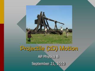 Projectile (2D) Motion