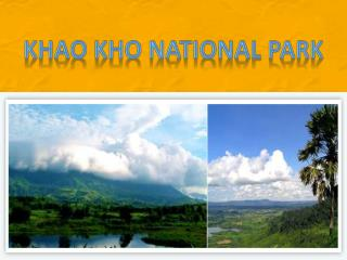 Khao Kho National  Park