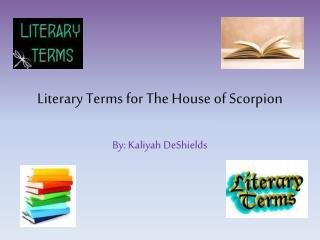 Literary Terms for The House of Scorpion