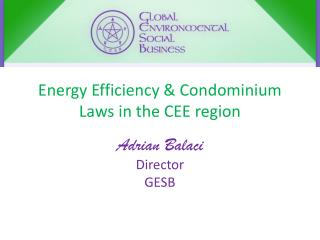 Energy Efficiency & Condominium Laws in the CEE region