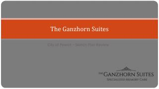 The Ganzhorn Suites