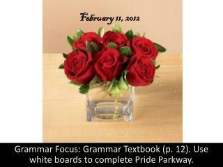 February 11, 2012