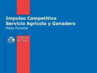 Impulso Competitivo Servicio Agrícola y Ganadero
