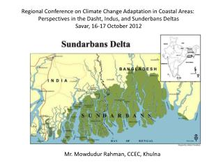 Regional Conference on Climate Change Adaptation in Coastal Areas: