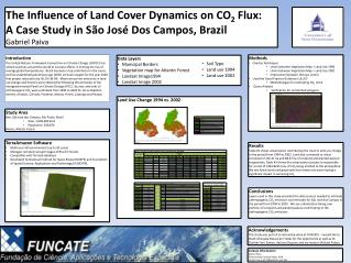 The Influence of Land Cover Dynamics on CO 2  Flux:  A Case Study in São José Dos Campos, Brazil