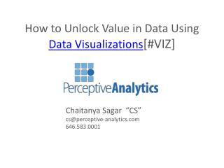 Data analytics company