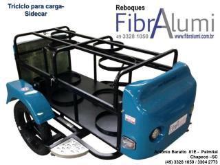 Triciclo para carga - Sidecar