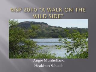 "MSP 2010 ""A Walk on the wild side"""