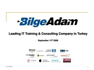 Leading IT Training  Consulting Company in Turkey  September 11th 2008