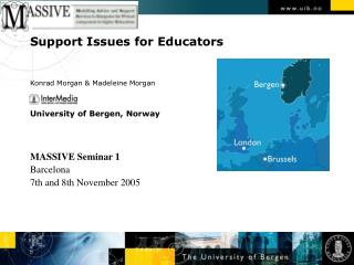 Support Issues for Educators