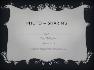Photo  –  sharing