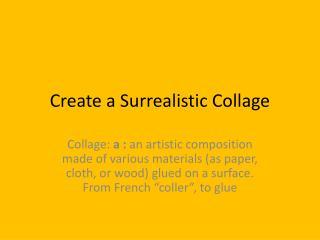 Create a Surrealistic Collage