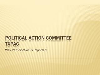 Political Action Committee TXPAC