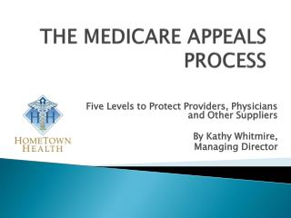THE MEDICARE APPEALS PROCESS