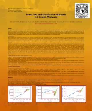 EPSC  European Planetary Science Congress Exoplanets  and  Origins EX1  P124   EPSC 2012-58