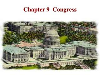 Chapter 9 Congress