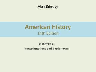 American History 14th Edition