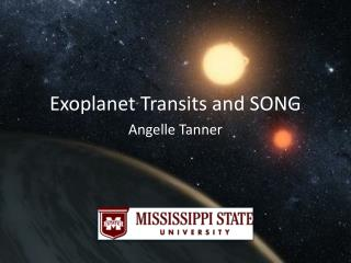 Exoplanet  Transits and SONG