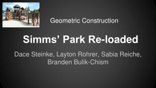Simms� Park Re-loaded