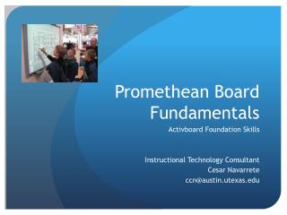 Promethean Board Fundamentals