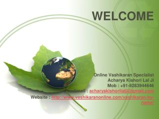 Vashikaran by Name