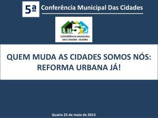 Conferência Municipal Das Cidades