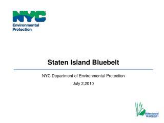 Staten Island Bluebelt