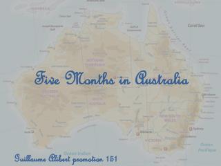 Five  Months  in  Australia