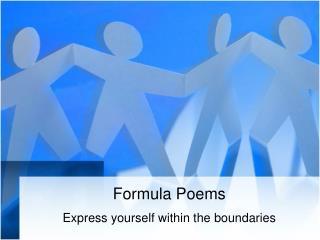Formula Poems