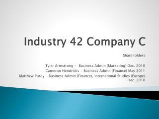 Industry 42 Company C