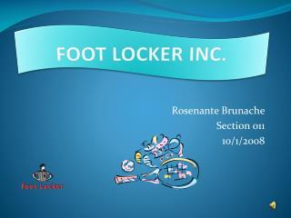FOOT LOCKER INC.