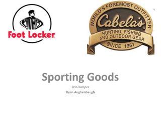 Sporting Goods Ron Jumper Ryan  Aughenbaugh