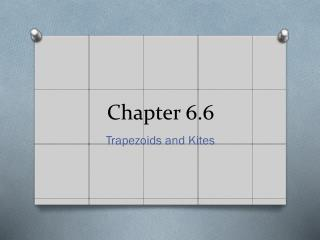 Chapter 6.6