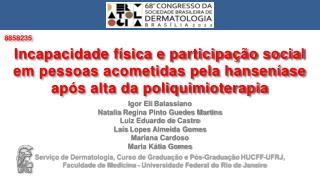 Igor Eli  Balassiano Natalia  Regina Pinto Guedes Martins Luiz Eduardo de  Castro