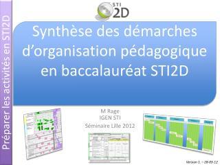 M Rage IGEN STI S�minaire Lille 2012
