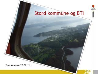 Stord kommune og BTI