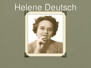 Helene Deutsch