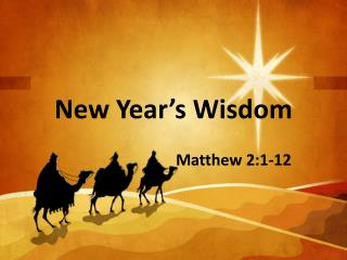 New Year's Wisdom