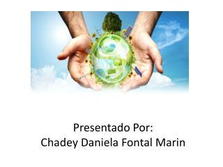 Presentado Por: Chadey  Daniela Fontal  Marin